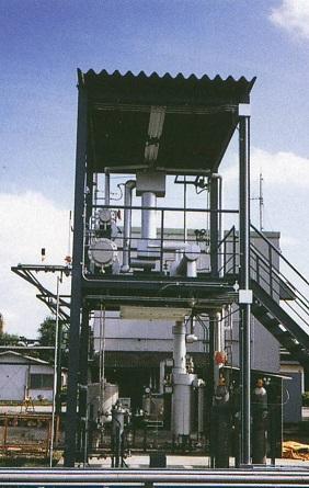 膜分離式溶剤脱水装置