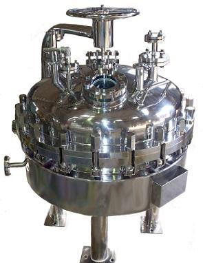 加圧濾過機(フィルタードライヤ)