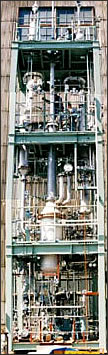 High-purity distillation system