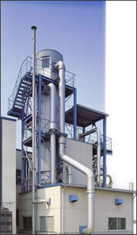 Coulter spray dryer