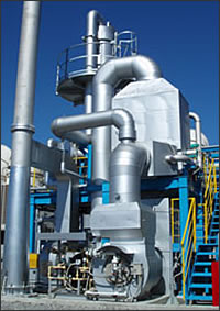 Catalytic deodorizing equipment for ammonia and VOC gas