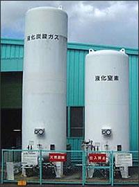Stationary cryogenic storage tank01