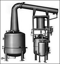 焼酎蒸留設備(減圧、常圧単式蒸留装置)