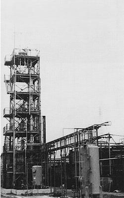 TCS(トリクロロシラン)蒸留装置