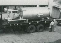 各種加熱炉 ー高圧ガス加熱器(蒸気加熱器)ー