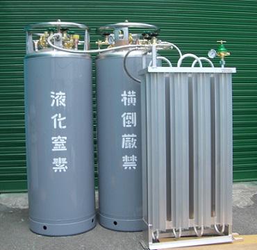 超低温液化ガス用蒸発器 - CAV-ES詳細 -